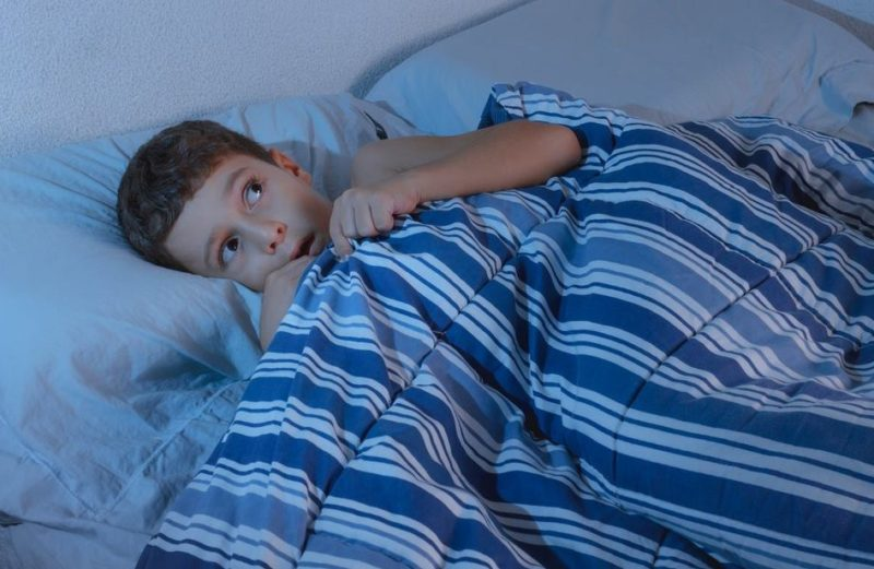 Night terrors in young children